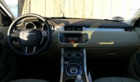 An interior view of the 2012 Range Rover Evoque 5-Door