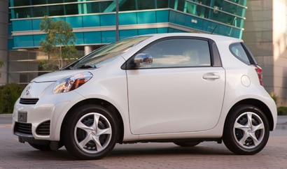 A side view of the Scion iQ