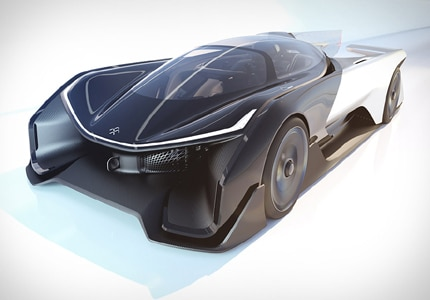 Faraday Future FFZERO1 EV, one of GAYOT's Top 10 Self-Driving Cars