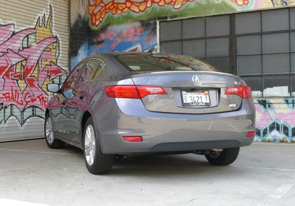 The Acura ILX Hybrid, previously one of GAYOT's Top 10 Small Cars