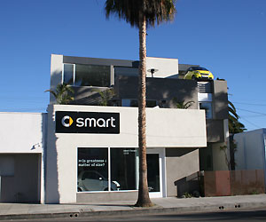 "The ""smart house,"" located in Venice Beach, CA"
