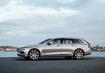 The 2017 Volvo V90, one of GAYOT's Top 10 Station Wagons