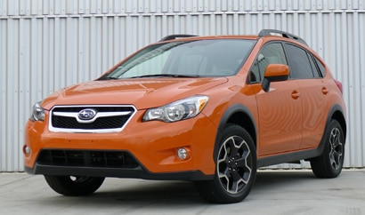 A Subaru XV Crosstrek, one of GAYOT's Top 10 Value Cars