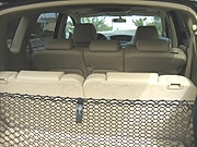 A rear interior view of the 2006 Subaru B9 Tribeca