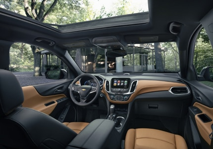A sneak peak inside the recently debuted 2018 Chevrolet Equinox, one of GAYOT's Top 10 Small SUVs