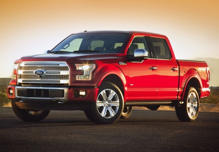 The Ford F-150 remains at the top of the best-selling list
