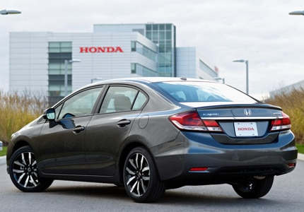 The versatile Honda Civic is powered by a 1.8-liter engine