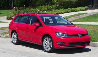 The 2015 Volkswagen Golf SportWagen TSI SEL, GAYOT's August 2015 Car of the Month