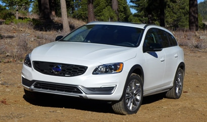 A 2015 Volvo V60 Cross Country
