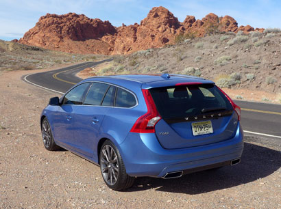 The Volvo V60, one of GAYOT's Top 10 Station Wagons
