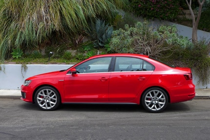The Volkswagen Jetta GLI, previously one of GAYOT's Top Family Sedans