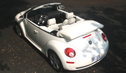 VW Triple White New Beetle
