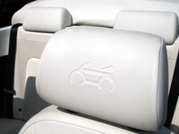 VW Triple White New Beetle Seat