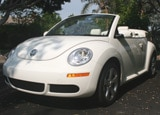VW Triple White Beetle