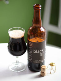 Allagash Black from Allagash Brewing Company tastes great paired with hearty winter meals or delicious holiday cookies