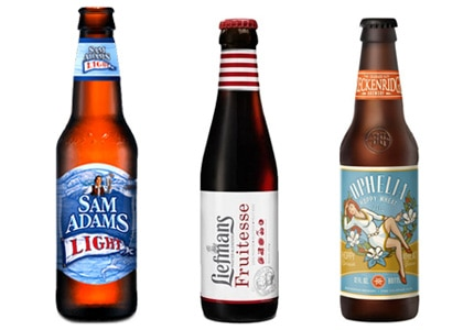 GAYOT's Top 10 Low-Calorie Beers include ales and lagers in a variety of styles
