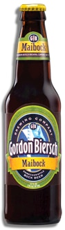 Gordon Biersch Maibock, one of our Top Spring Beers