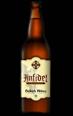 Selkirk Abbey Infidel is a Belgian-style IPA