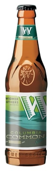 Widmer Columbia Common Spring Ale, one of our Top 10 Spring Beers