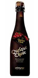 Unibroue Quelque Chose tastes delicious warm, making it a great companion for cold winter nights