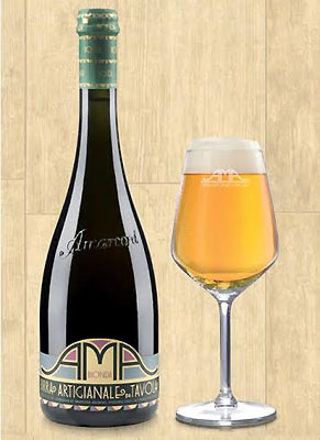 Italian-made AMA Bionda is a Belgian Pale Ale from the small medieval town of Apecchio