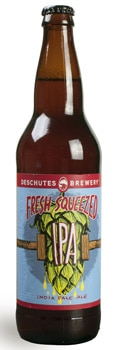 Deschutes Fresh Squeezed IPA offers intense citrus flavor