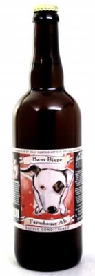 Jolly Pumpkin Bam Biere, one of GAYOT's Top 10 Craft Beers, a golden-hued, naturally cloudy farmhouse ale/saison