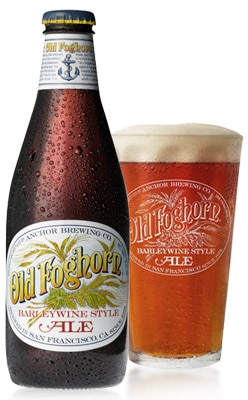 Old Foghorn Ale, one of our Top 10 Craft Beers, the first of its kind in modern times to be produced in the U.S.