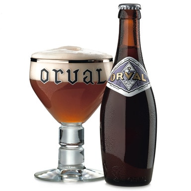 Orval, one of our Top 10 Craft Beers, brewed by monks
