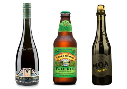 GAYOT's Top 10 Craft Beers include handcrafted brews from around the world