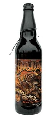 Three Floyds Dark Lord, one of our Top 10 Craft Beers, with an intense roasted malt and chocolate flavor