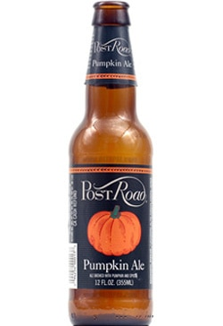 Brooklyn Post Road Pumpkin Ale, a coppery brew on our list of the Top Fall Beers