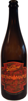 Spice up an autumn night with a bottle of The Bruery's Autumn Maple, featuring flavors of yams, maple syrup, molasses and cinnamon