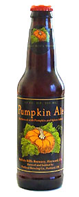 Buffalo Bill's Brewery Original Pumpkin Ale, one of our Top 10 Fall Beers