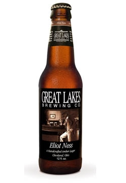 Great Lakes Eliot Ness Amber Lager, one of our Top Fall Beers