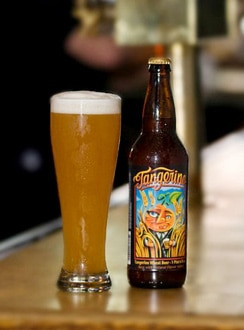 Lost Coast Tangerine Wheat, one of our Top 10 Fruit Beers