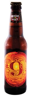 Magic Hat #9 Not Quite Pale Ale is brewed with apricots
