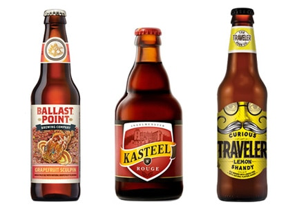 GAYOT's Top 10 Fruit Beers are brewed with everything from grapefruit rind to whole, fresh cherries