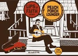 New Belgium Peach Porch Lounger, one of our Top 10 Fruit Beers