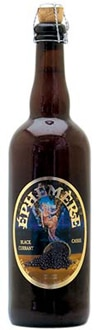 Unibroue Ephemere Blackcurrant features cassis (blackcurrant), a dark berry native to central and northern Europe as well as Asia