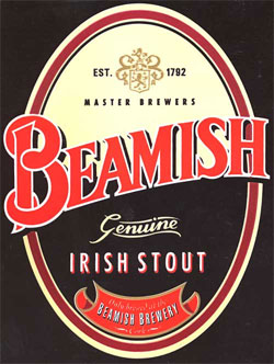 Beamish Stout, one of our Top Irish Beers