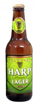 Harp Lager has a smooth, crisp flavor