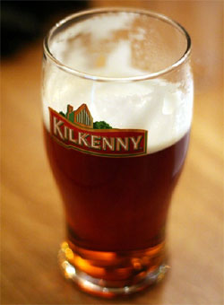 Kilkenny Irish Cream Ale, one of our Top 10 Irish Beers