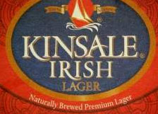 Kinsale Irish Lager, one of our Top Irish Beers