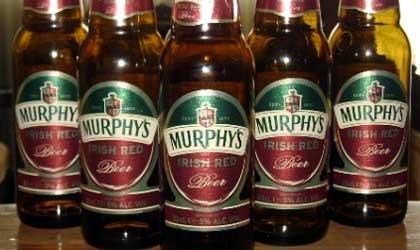 Murphy's Irish Red, one of our Top 10 Irish Beers