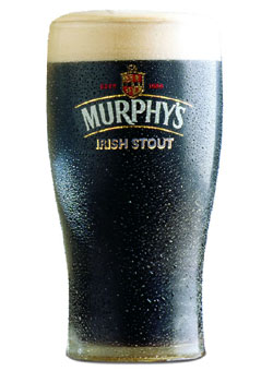 Murphy's Irish Stout ale, one of our Top 10 Irish Beers