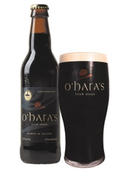 Ohara's Celtic Stout from Carlow Brewery, one of our Top 10 Irish Beers