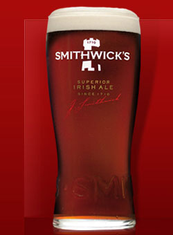 Smithwick's Irish Ale, one of our Top 10 Irish Beers