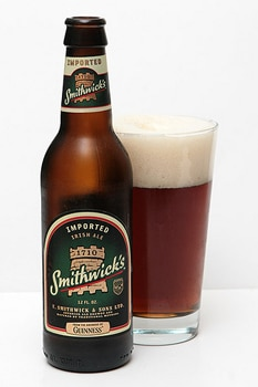 Smithwick's Irish Ale has notes of caramel malt and a hint of hops