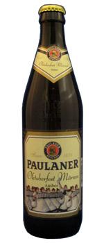 Paulaner Oktoberfest Märzen, one of GAYOT's Top 10 Oktoberfest Beers